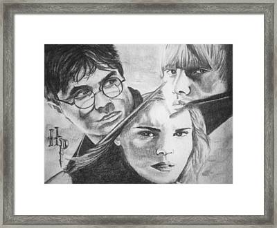 Harry Potter Framed Print by Madelyn Mershon