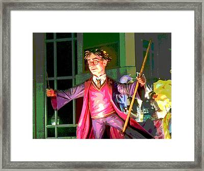 Harry Potter Framed Print by Marian Bell
