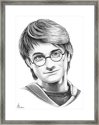 Harry Potter Framed Print by Murphy Elliott