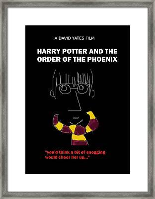 Harry Potter Phoenix Movie Poster Framed Print