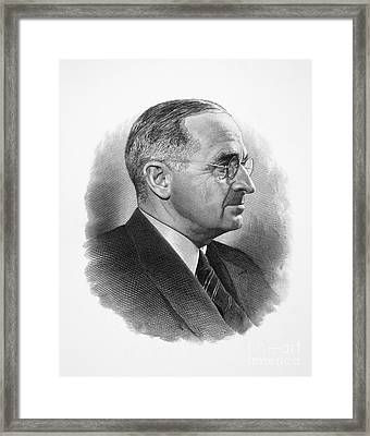 Harry S. Truman Framed Print