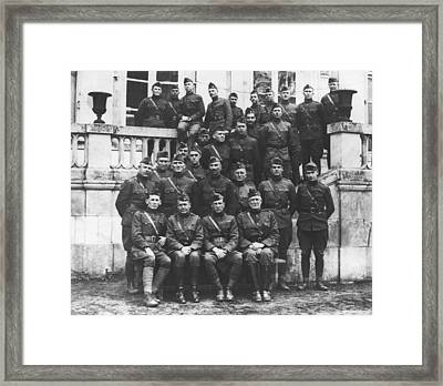Harry Truman In Wwi Framed Print