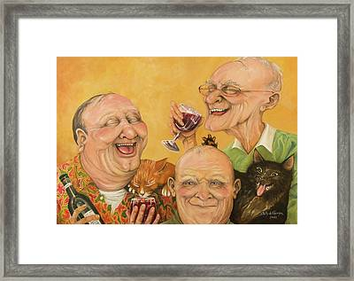 Harry's Lodge Meeting Framed Print by Shelly Wilkerson