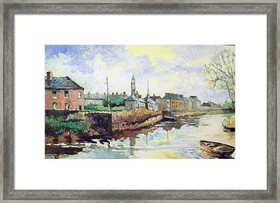 Harrys  Mall -limerick-ireland Framed Print