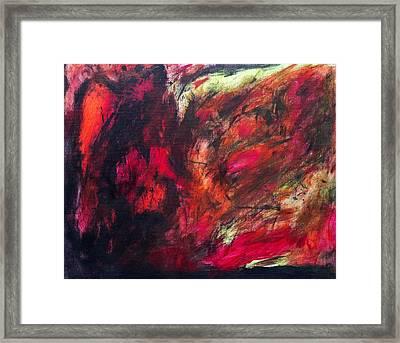 Harsh Blanket  Framed Print by Brandon Feris
