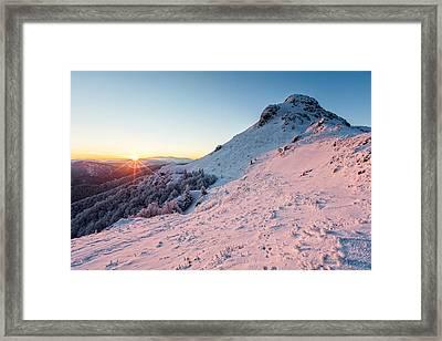 Harsh Sunshine Framed Print