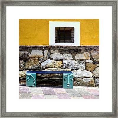 Hartberg Bench Framed Print
