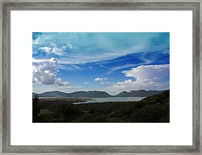 Hartebeespoort Dam Framed Print by Riana Van Staden