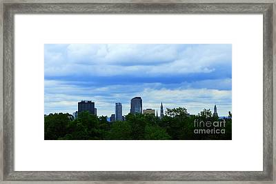 Hartford - Looking East Framed Print by Tom Cruickshanks