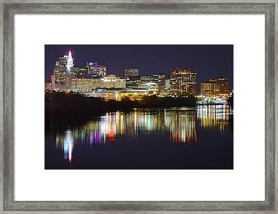 Hartford Night Framed Print by Frozen in Time Fine Art Photography