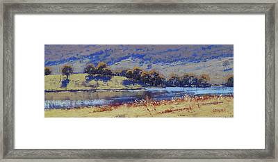Hartley Dam Framed Print
