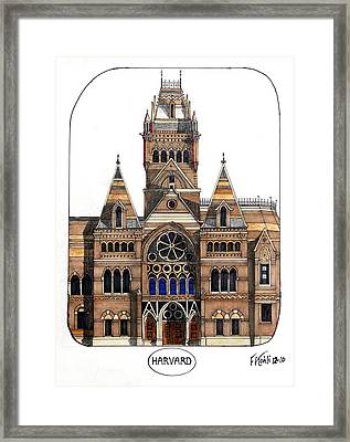 Harvard Framed Print by Frederic Kohli