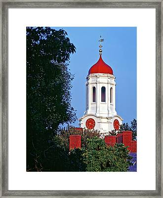 Harvard's Dunster House Framed Print by Mountain Dreams