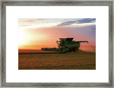 Harvest Colors Framed Print by Todd Klassy