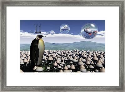 Harvest Day Sightings Framed Print by Richard Rizzo