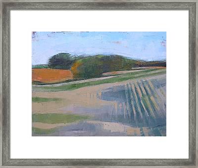 Harvest Fields Framed Print