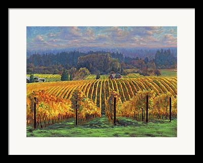 Grape Framed Prints