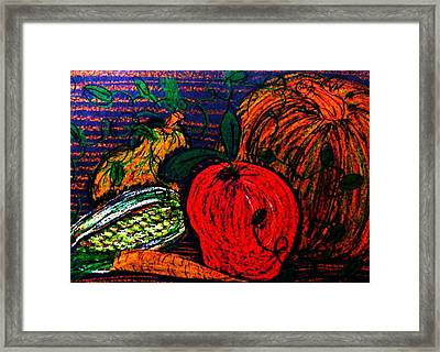 Harvest Framed Print by Jeanette Stewart