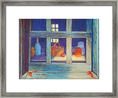 Harvest Kitchen Framed Print