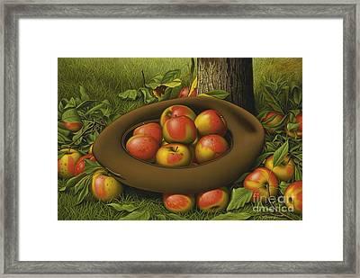 Harvest Framed Print by MotionAge Designs