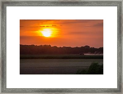 Harvest Framed Print by Lori Root