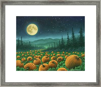 Harvest Moon 01 Framed Print