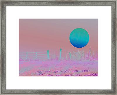 Harvest Moon Framed Print by Amy Williams