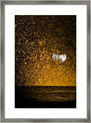 Harvest Moon Framed Print by Kevin  Sherf
