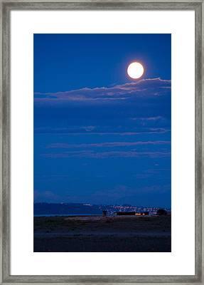 Harvest Moon Framed Print by Paul Kloschinsky