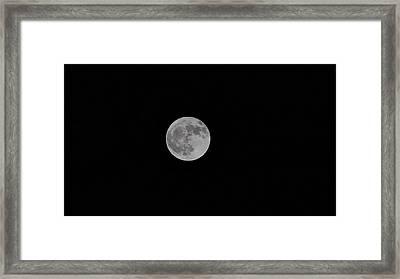 Harvest Moon Framed Print