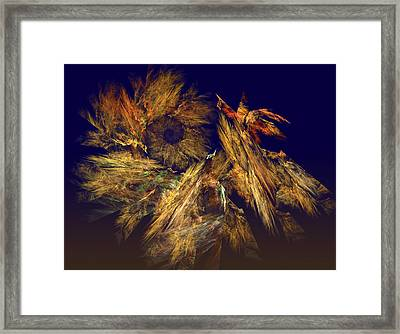 Harvest Of Hope Framed Print
