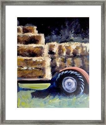 Harvest Framed Print by Paula Strother