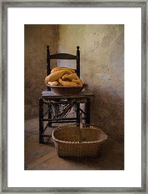 Framed Print featuring the photograph Harvest by Robin-Lee Vieira