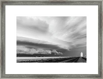 Harvest Time Interrupted Framed Print