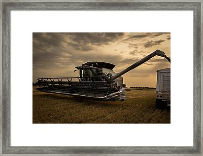 Harvest Time Framed Print by Jay Stockhaus