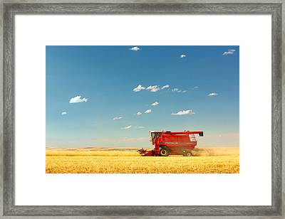 Harvest Time Framed Print by Todd Klassy