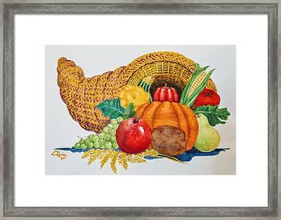 Harvest Time2  Framed Print
