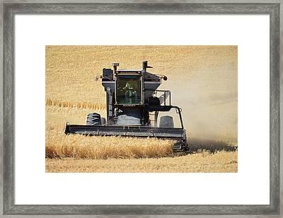 Harvester Framed Print