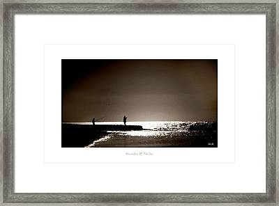 Framed Print featuring the photograph Harvester Of The Sea by Martina  Rathgens