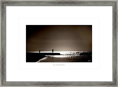 Harvester Of The Sea Framed Print