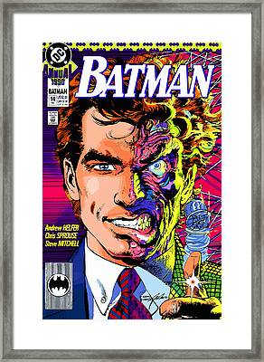 Harvey Dent  Framed Print