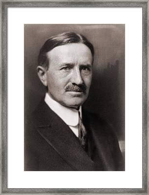 Harvey Firestone 1868-1938, Founded Framed Print by Everett