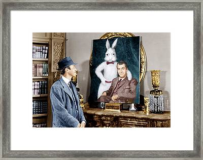 Harvey, James Stewart, 1950 Framed Print by Everett