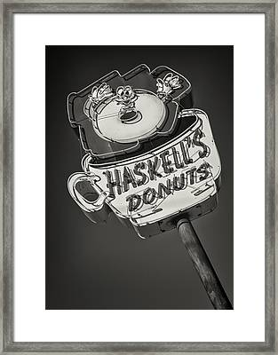 Haskell's Donuts #2 Framed Print