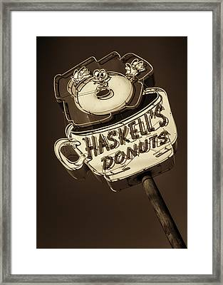 Haskell's Donuts #3 Framed Print