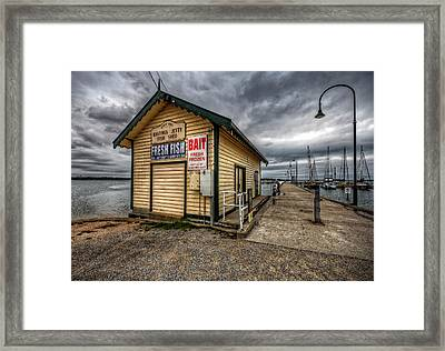 Hastings Jetty Framed Print