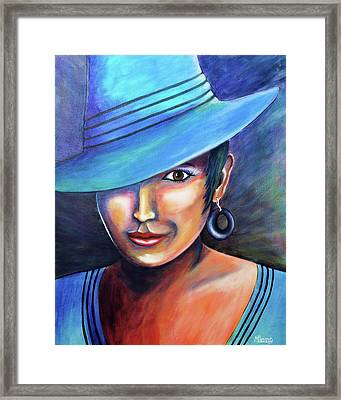 Hat Affair Framed Print