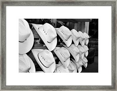 Hat And Boot Store Nashville Tn Framed Print by Joseph Mari