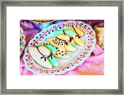Hat Cookies Framed Print
