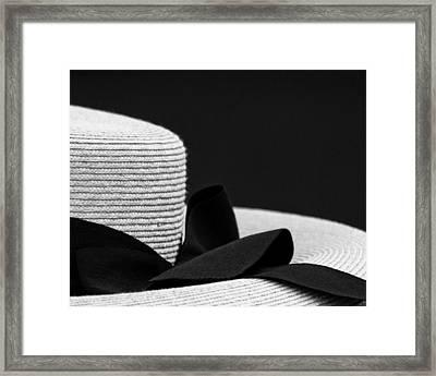 Hat Framed Print by John Hermann